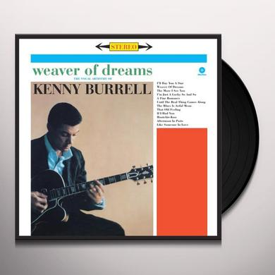 Kenny Burrell WEAVER OF DREAMS Vinyl Record - Spain Import
