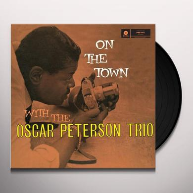 Oscar (Trio) Peterson ON THE TOWN Vinyl Record
