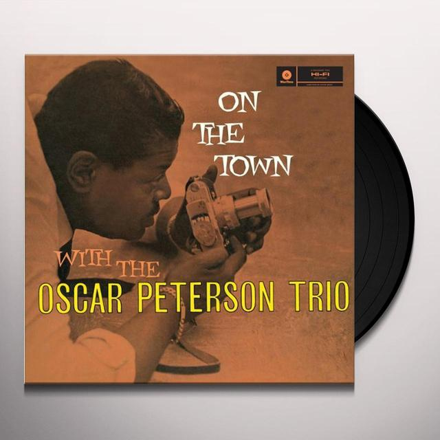 Oscar (Trio) Peterson ON THE TOWN Vinyl Record - Spain Release