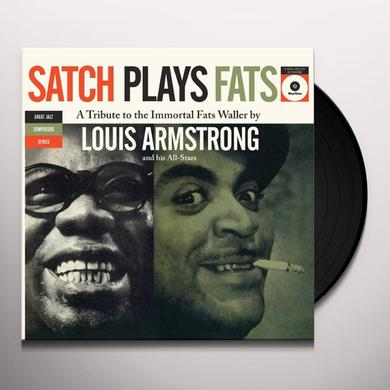 Louis Armstrong SATCH PLAYS FATS Vinyl Record - Spain Import