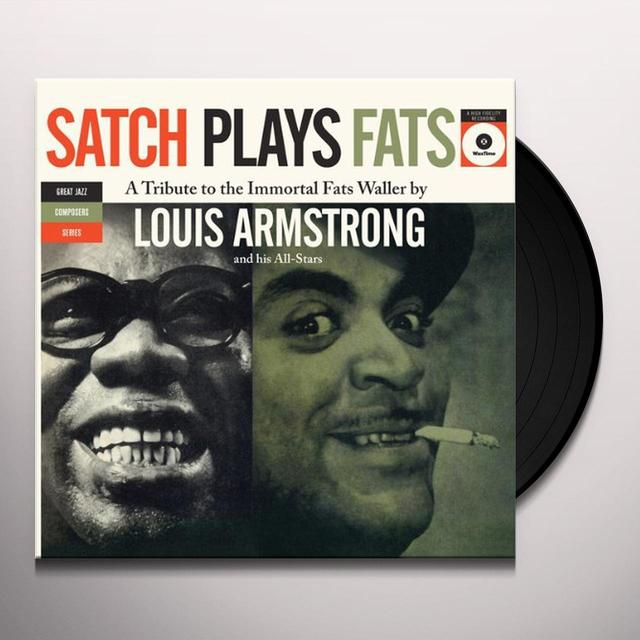 Louis Armstrong SATCH PLAYS FATS Vinyl Record - Spain Release