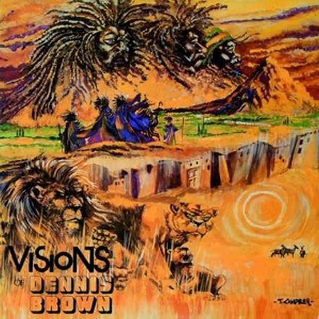 VISION OF DENNIS BROWN Vinyl Record - UK Import