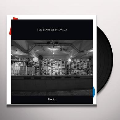 Ten Years Of Phonica / Various (Uk) TEN YEARS OF PHONICA / VARIOUS Vinyl Record - UK Import