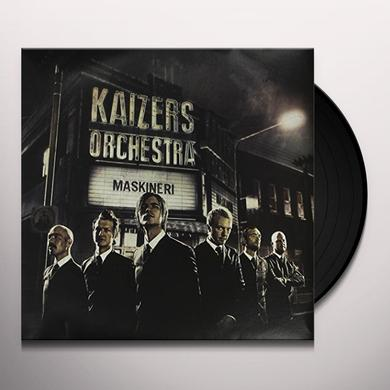 Kaizers Orchestra MASKINERI Vinyl Record - Holland Import