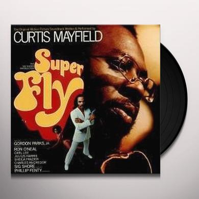 Curtis Mayfield SUPERFLY Vinyl Record - UK Import