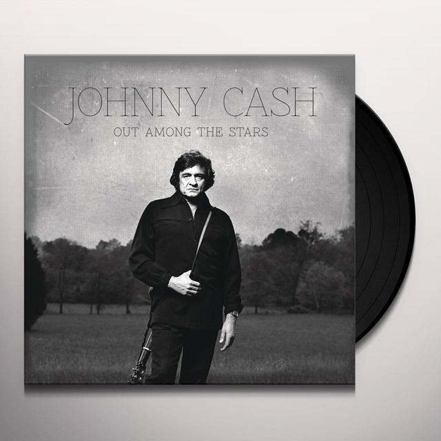 Johnny Cash OUT AMONG THE STARS Vinyl Record - Gatefold Sleeve