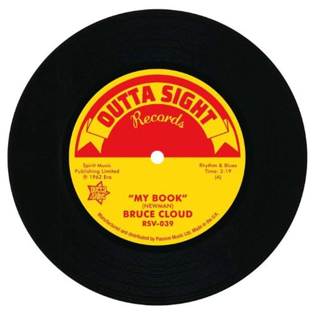 Bruce Cloud MY BOOK/LUCKY IS MY NAME Vinyl Record - UK Import