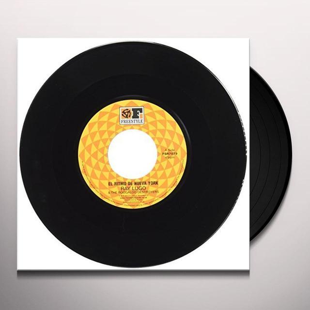 Ray Lugo & The Boogaloo Destroyers EL RITMO DE NUEVA YORK Vinyl Record - UK Import