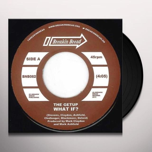 The Getup WHAT IF?/OOH OOH Vinyl Record - UK Release