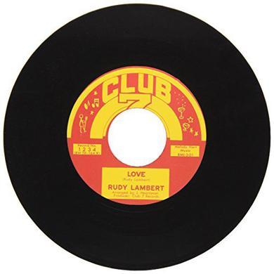 Rudy Lambert LOVE Vinyl Record