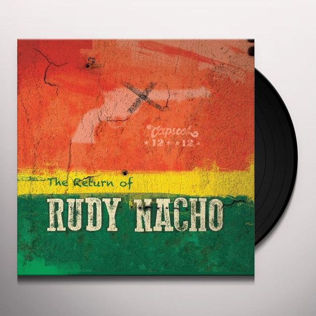 Capitol 1212 RETURN OF RUDY NACHO Vinyl Record - UK Import