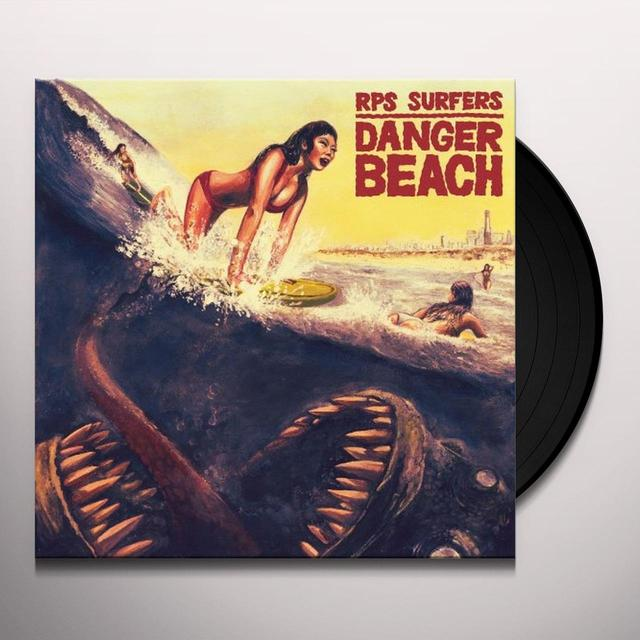 Rps Surfers DANGER BEACH Vinyl Record