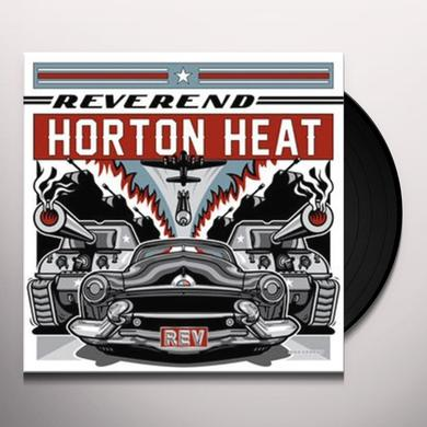 The Reverend Horton Heat REV Vinyl Record - UK Release