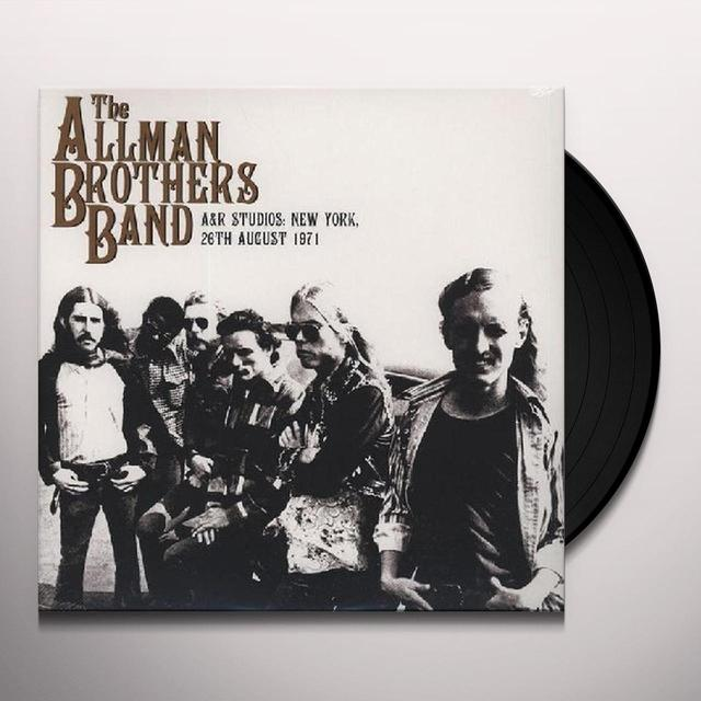 The Allman Brothers Band  A & R STUDIOS: NEW YORK (UK) (Vinyl)