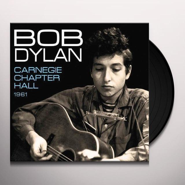 Bob Dylan CARNEGIE CHAPTER Vinyl Record - UK Release