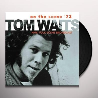 Tom Waits ON THE SCENE '73 Vinyl Record - UK Release