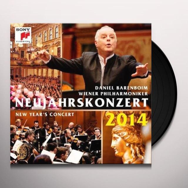 Daniel Barenboim & Wiener Philharmoniker NEUJAHRSKONZERT 2014/NEW YEAR'S CONCER Vinyl Record - Holland Import