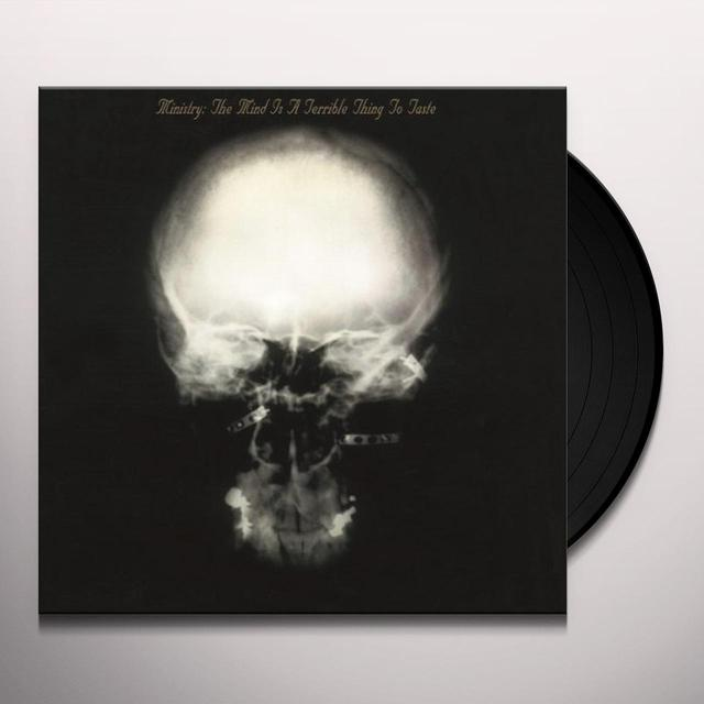 Ministry MIND IS A TERRIBLE THING TO TASTE Vinyl Record - Holland Import