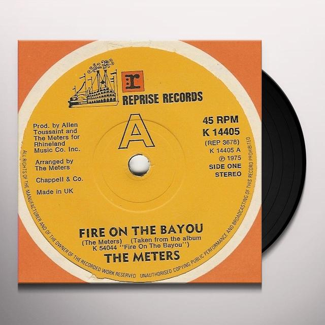 Meters FIRE ON THE BAYOU Vinyl Record - Holland Import
