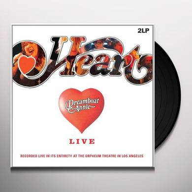 Heart DREAMBOAT ANNIE-LIVE Vinyl Record - Holland Import