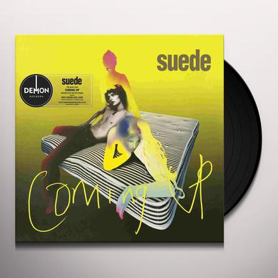 Suede COMING UP Vinyl Record
