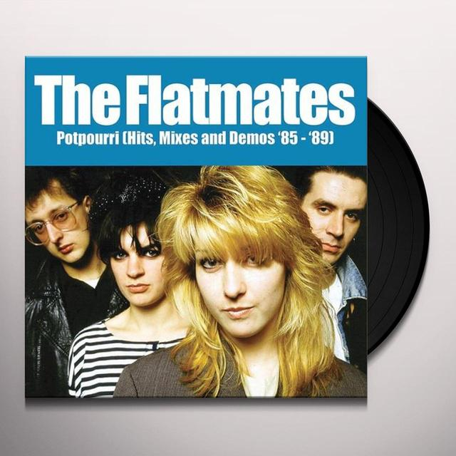 Flatmates POTPOURRI: HITS MIXES & DEMOS 85-89 Vinyl Record