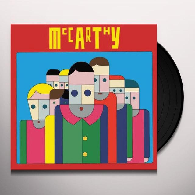 Mccarthy BANKING VIOLENCE & INNER LIFE TODAY Vinyl Record
