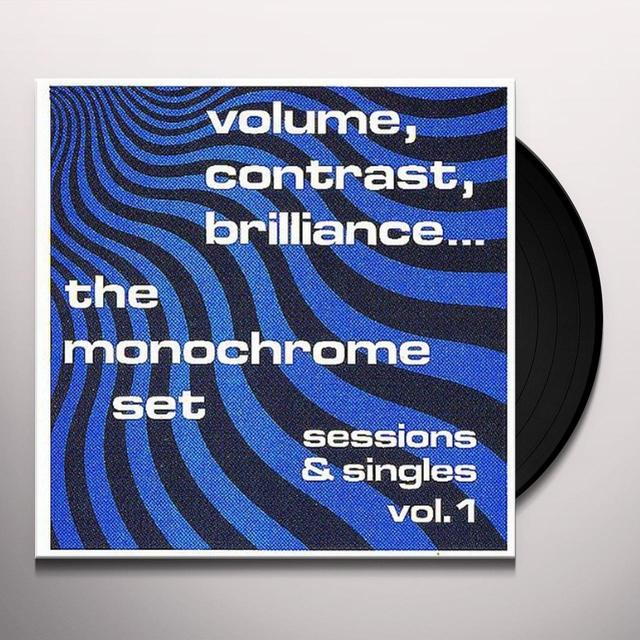 The Monochrome Set CONTRAST BRILLIANCE: SESSIONS & SINGLES 1 Vinyl Record