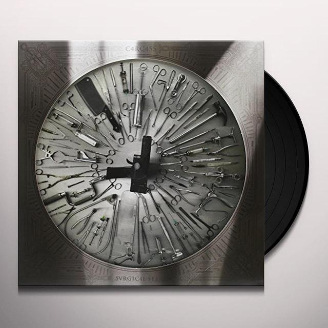 Carcass SURGICAL STEEL DECIBEL TOUR Vinyl Record - Picture Disc