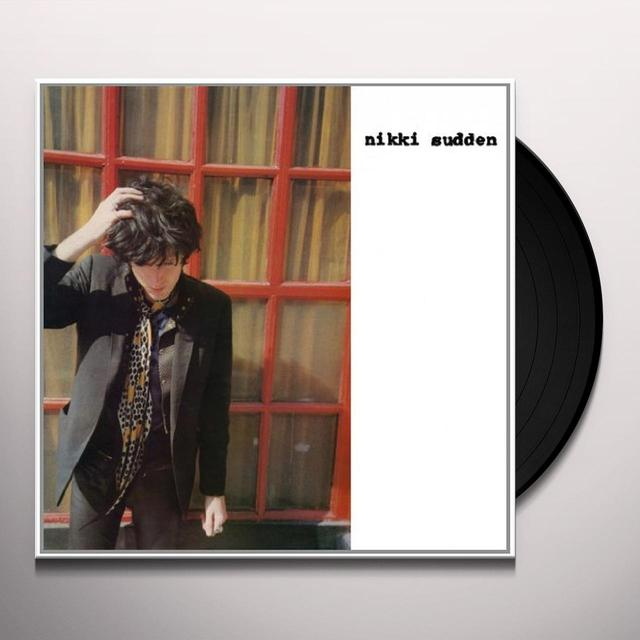 Nikki Sudden WAITING ON EGYPT Vinyl Record