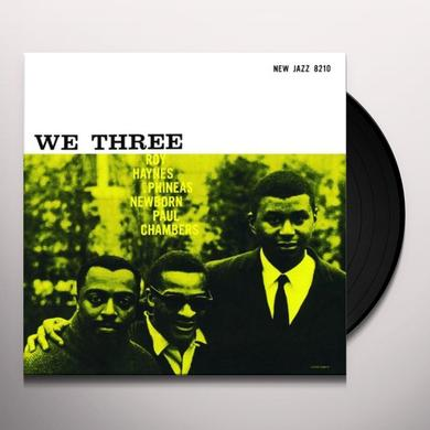 Haynes / Newborn / Chambers WE THREE Vinyl Record