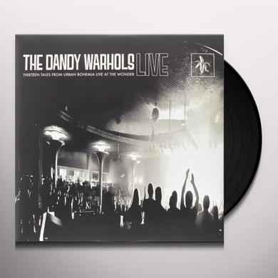 Dandy Warhols THIRTEEN TALES FROM URBAN BOHEMIA LIVE AT WONDER Vinyl Record