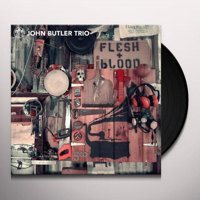 John Butler FLESH & BLOOD Vinyl Record