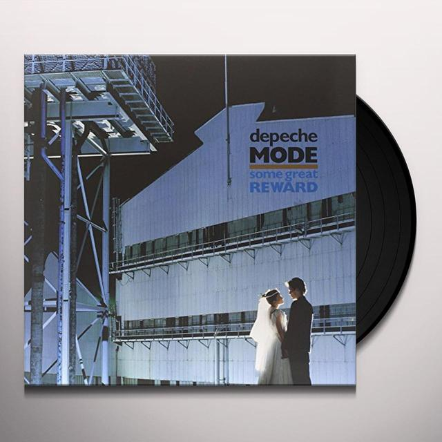 Depeche Mode SOME GREAT REWARD Vinyl Record - Holland Release