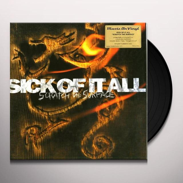 Sick Of It All SCRATCH THE SURFACE Vinyl Record