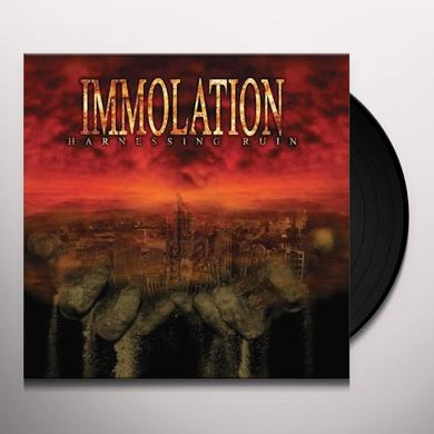Immolation HARNESSING RUIN Vinyl Record - UK Release