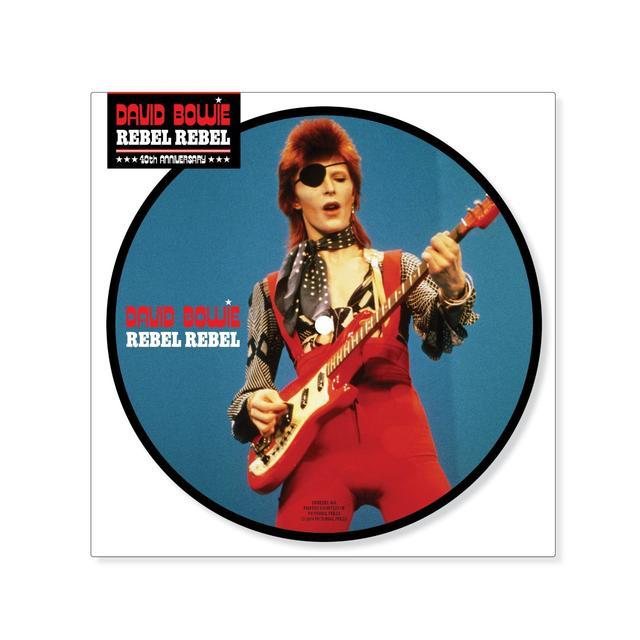 David Bowie REBEL REBEL Vinyl Record