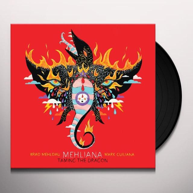 Brad Mehldau & Mark Guiliana   MEHLIANA: TAMING THE DRAGON Vinyl Record