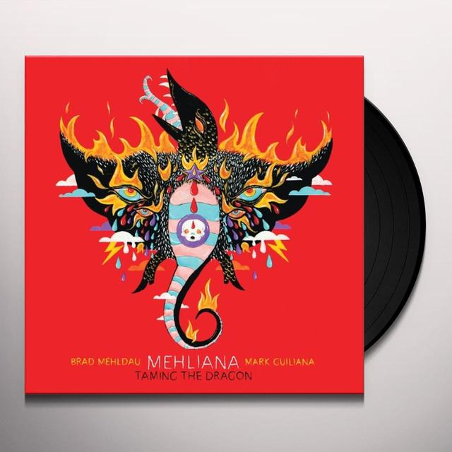 Brad Mehldau & Mark Guiliana   MEHLIANA: TAMING THE DRAGON (BONUS CD) Vinyl Record