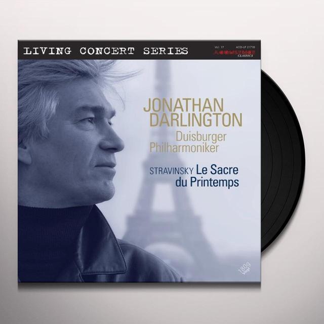 Stravinsky / Duisburger Philharmoniker SACRE DU PRINTEMPS Vinyl Record