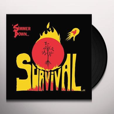 Survival SIMMER DOWN Vinyl Record