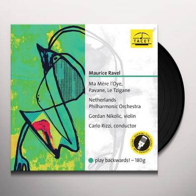 Ravel / Netherlands Philharmonic Orch / Nikolic MA MERE L'OYE / PAVANE / LE TZIGANE Vinyl Record