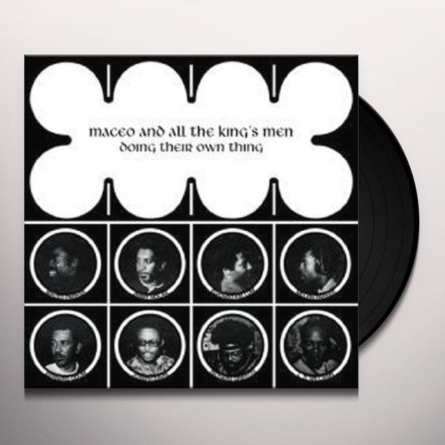 Maceo & The Kings Men DOIN THEIR OWN THING Vinyl Record