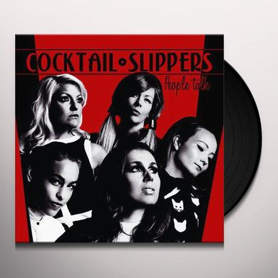 Coctail Slippers PEOPLE TALK Vinyl Record