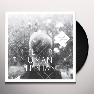 Human Elephant WHITE THUNDER Vinyl Record - Limited Edition