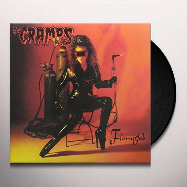 The Cramps FLAMEJOB Vinyl Record - Limited Edition