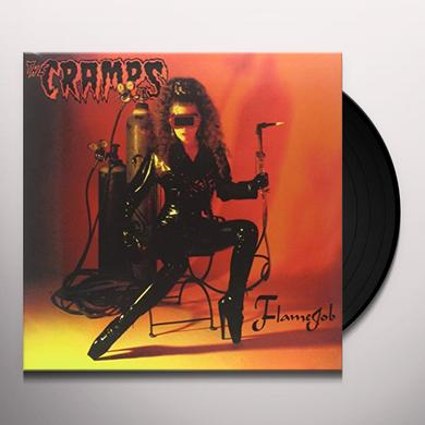 The Cramps FLAMEJOB Vinyl Record