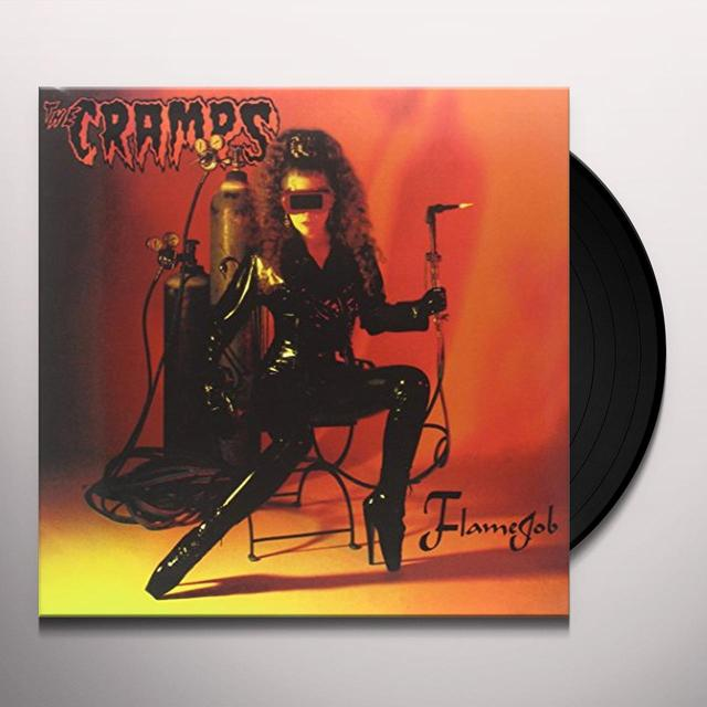 The Cramps FLAMEJOB Vinyl Record - Limited Edition, 200 Gram Edition