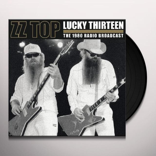 ZZ Top LUCKY 13-USA 1980 Vinyl Record - UK Release