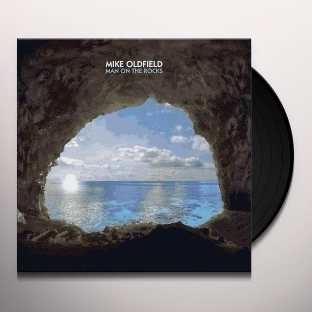 Mike Oldfield MAN ON THE ROCKS Vinyl Record - UK Import